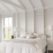 neutral bedroom ideas - monochromatic bedroom
