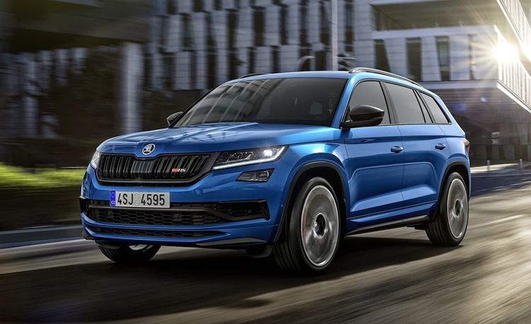 The New Skoda Kodiaq RS SUV Holds a Nurburgring Lap Record