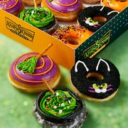 krispy kreme 2021 halloween witch donuts