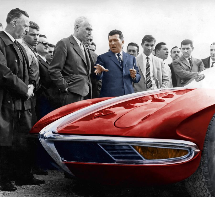 Ferrari Supercar: Lamborghini Makes Cars Because Enzo Ferrari Snubbed The