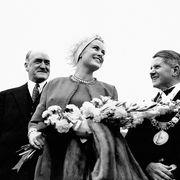 La Princesse Grace de Monaco arrive à Dublin