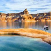 Houseboating on Lake Powell — Arizona and Utah