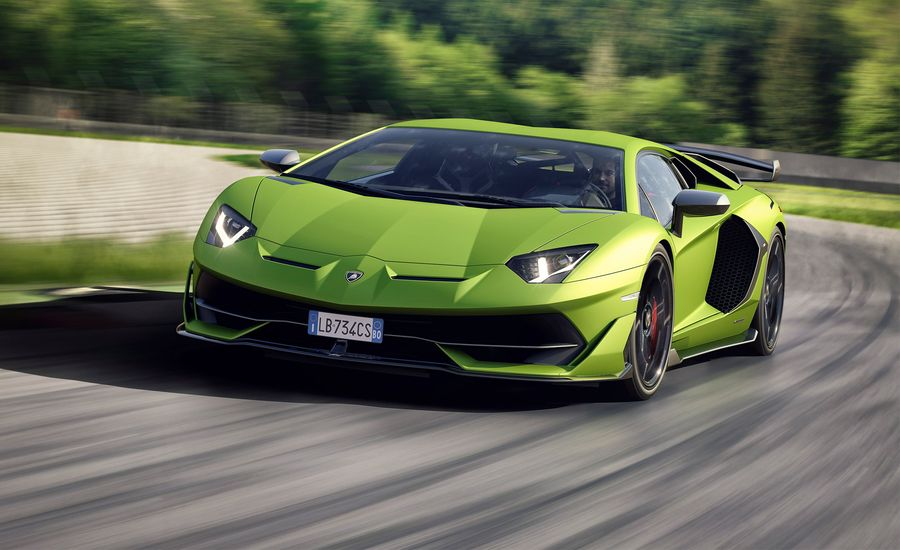 Lamborghini Takes the Wraps Off Its Nurburgring-Searing Aventador SVJ