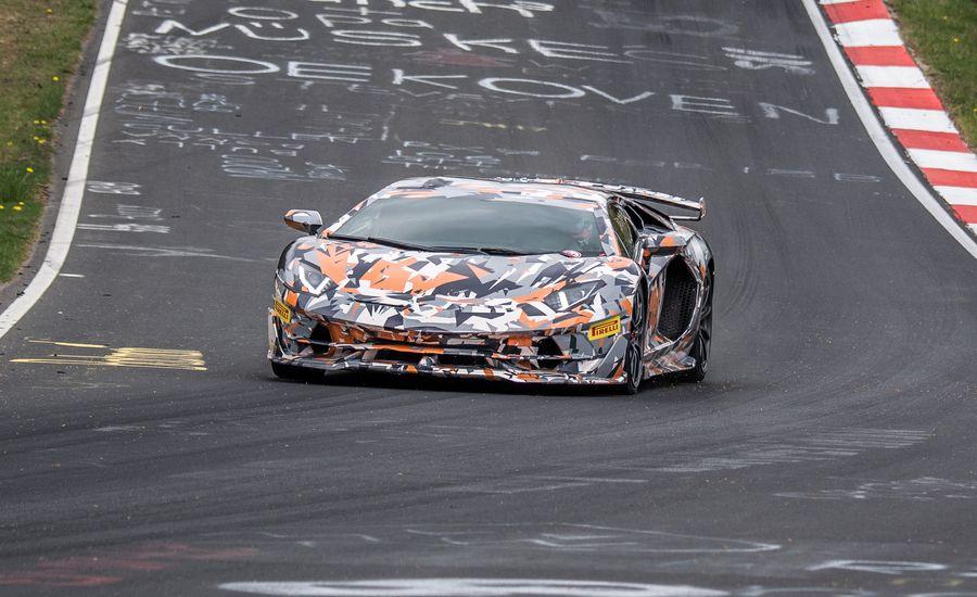 Watch Lamborghini's Ballsiest Aventador Set New Nurburgring Record [Video]