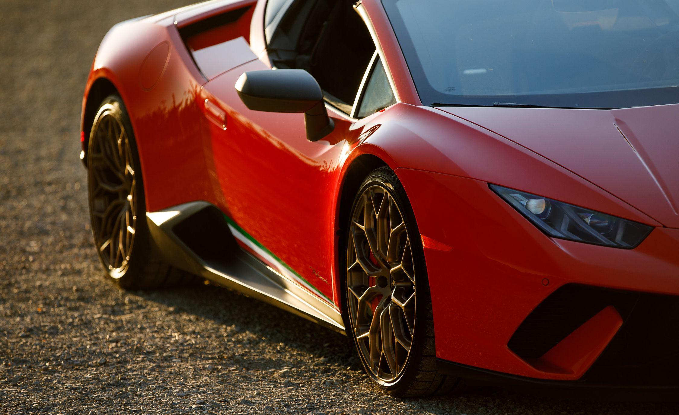 2018 Lamborghini Huracán Performante Spyder Photo Gallery