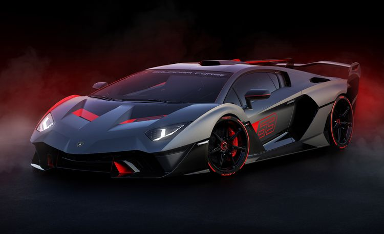 Lamborghini's Racing Division Created a One-Off Road Car for a Customer