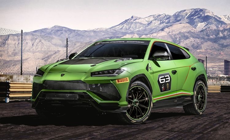 The Lamborghini Urus ST-X Concept Will Hit the Racetrack in 2020