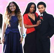 Event, Formal wear, Fashion, Skin, Dress, Suit, Human, Tuxedo, Fun, Gown,