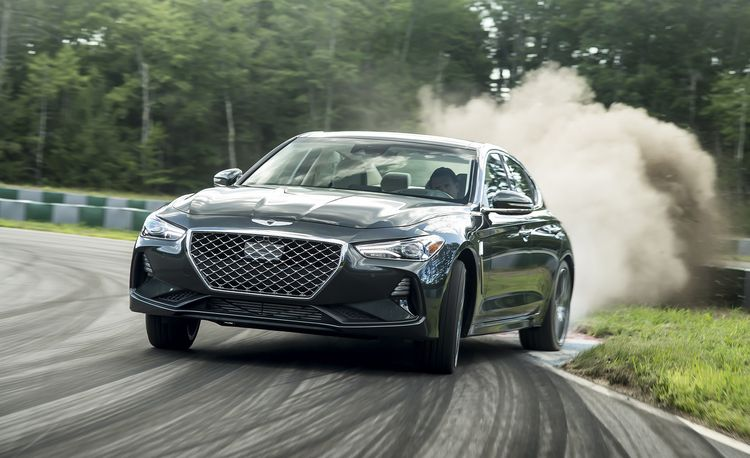 The 2019 Genesis G70 Starts $5350 Cheaper than the Equivalent BMW 3-series