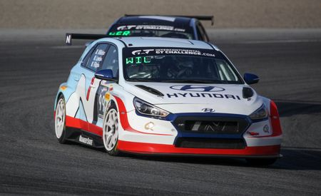 The 350-HP Hyundai Veloster N TCR Race Car Will Compete in IMSA
