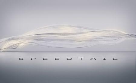 McLaren's $2.1M Three-Seat Hypercar Has a Name: Speedtail