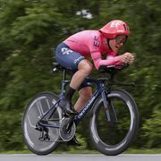 lawson craddock during the 73rd critérium du dauphiné 2021 stage 4 time trial