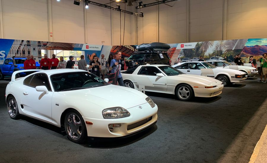 Toyota Brought Every Supra Generation to SEMA