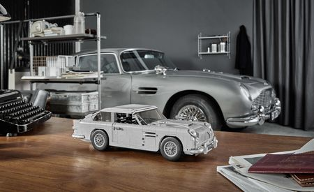 Lego Joins MI6 for Release of James Bond Aston Martin DB5 Kit