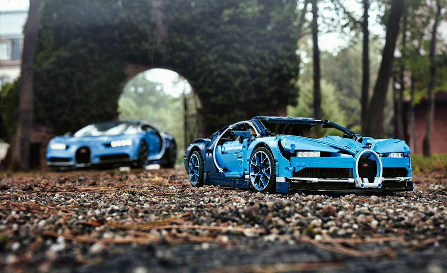Technic Car: Lego Releases Masterful Bugatti Chiron Kit
