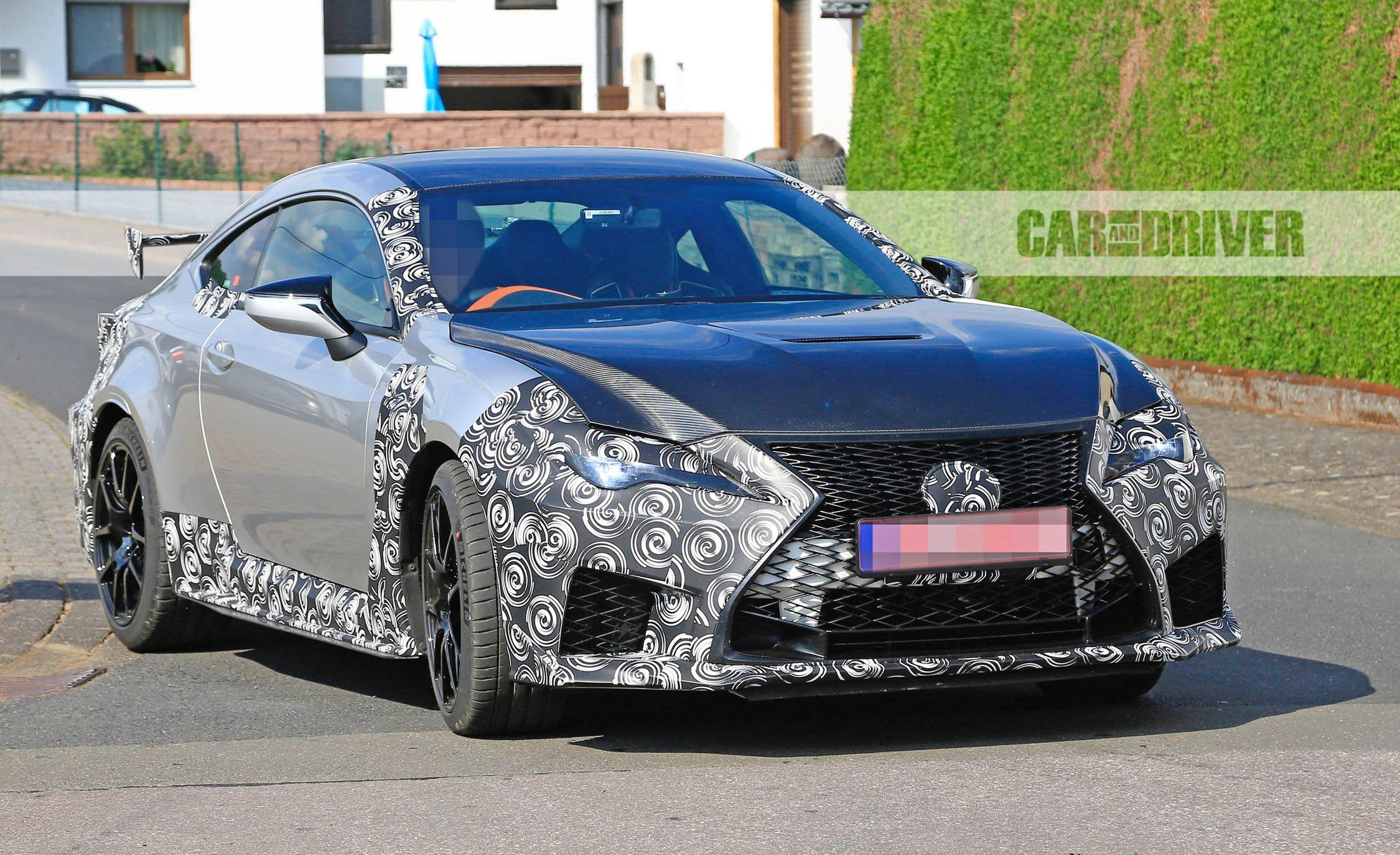 Lexus RC F GT Spied News