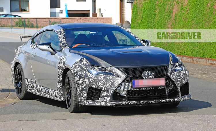 Race-Inspired Lexus RC F GT Caught Testing