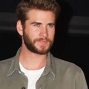 Liam Hemsworth fall denim fashion