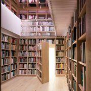 Bookcase, Shelving, Shelf, Library, Public library, Building, Furniture, Book, Architecture, Publication,