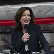 lieutenant governor kathy hochul speaks at grand opening