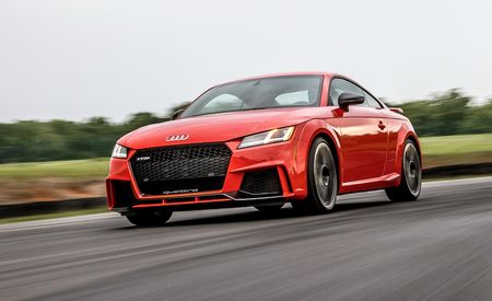 2018 Audi TT RS at Lightning Lap 2018