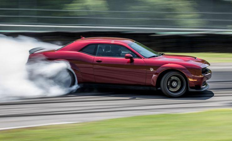2018 Dodge Challenger SRT Hellcat Widebody at Lightning Lap 2018