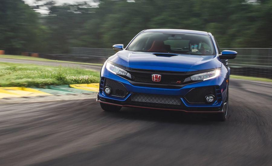 2018 Honda Civic Type R at Lightning Lap 2018