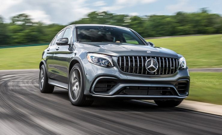 2018 Mercedes-AMG GLC63 S Coupe at Lighting Lap 2018