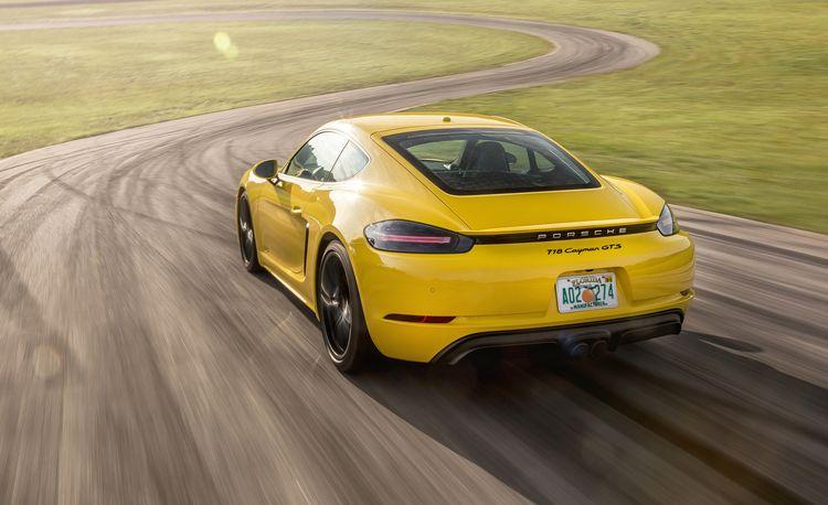 2018 Porsche 718 Cayman GTS at Lightning Lap 2018
