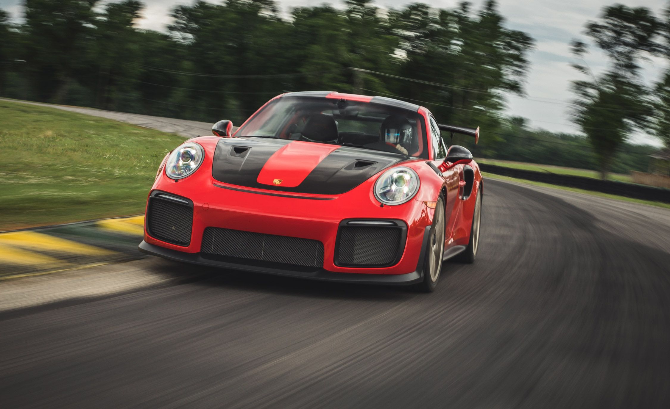 2018 Porsche 911 GT2 RS Weissach at Lightning Lap 2018
