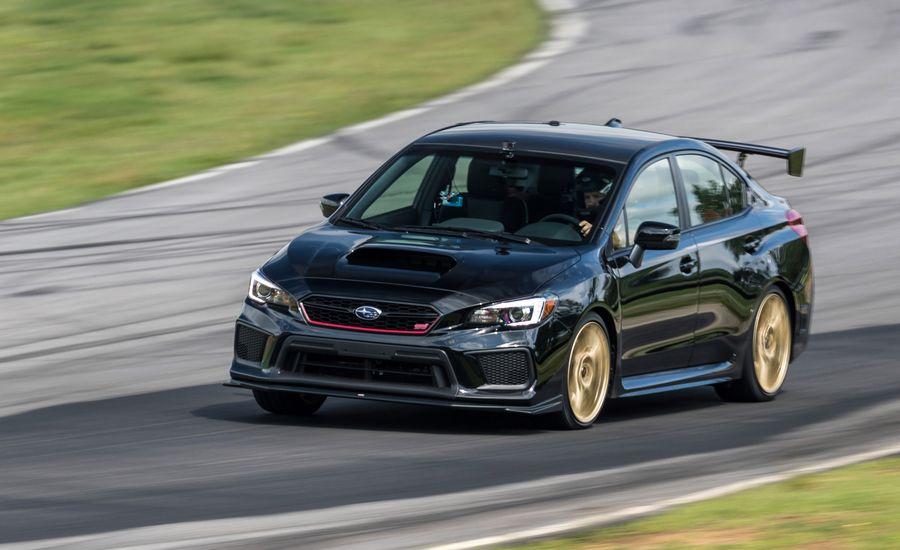 2018 Subaru WRX STI Type RA at Lightning Lap 2018