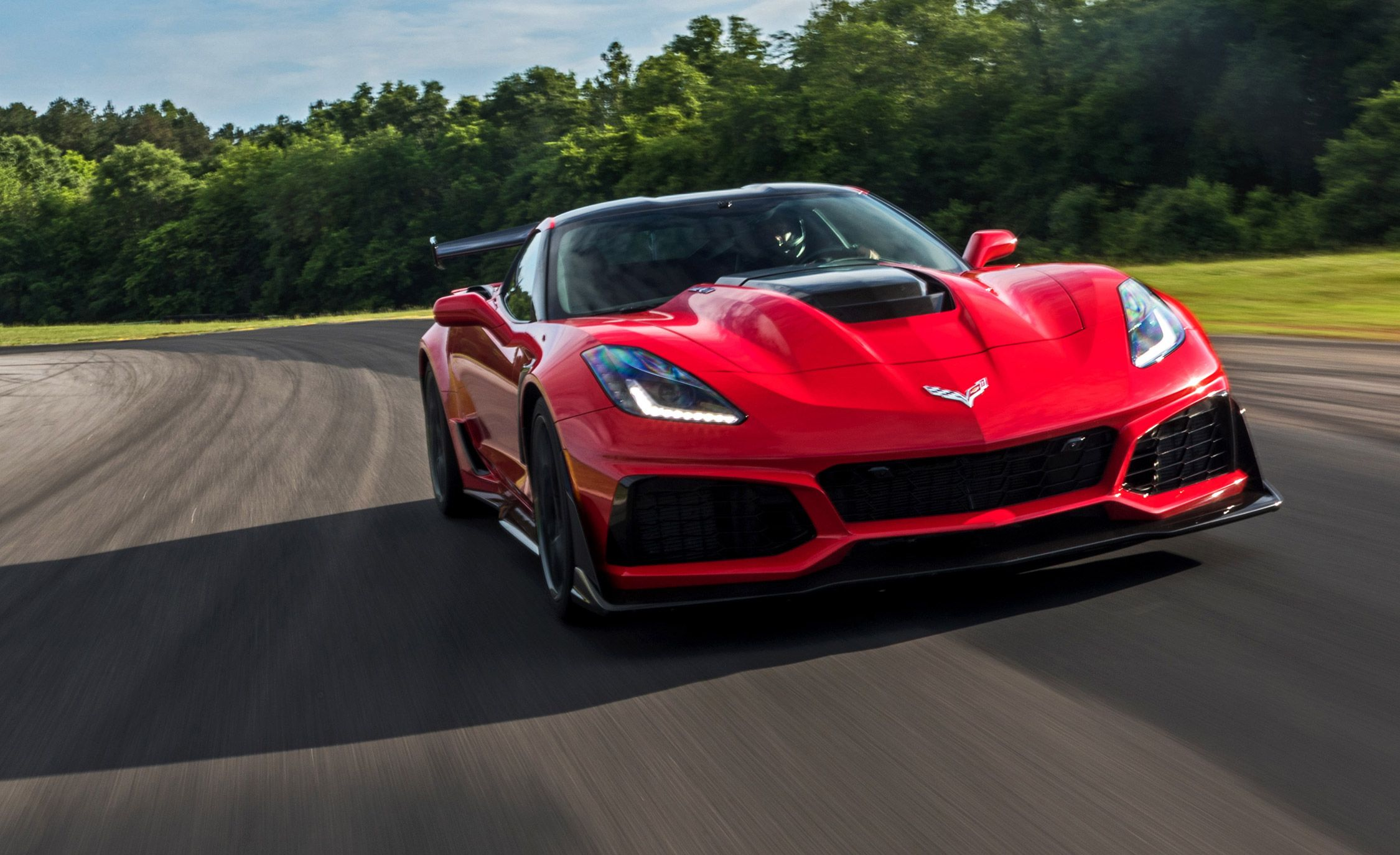 2019 Chevrolet Corvette Zr1 Reviews Price Photos And Specs Car Driver
