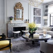 Living room, Room, Interior design, Furniture, Property, Coffee table, Building, Table, Home, Ceiling,