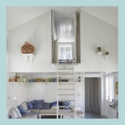 lofted bedroom design