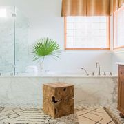 Room, Tile, Property, Bathroom, Furniture, Interior design, Floor, Cabinetry, House, Home,
