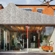 mountain view, house extension by can architects