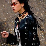 Street fashion, Fashion, Eyewear, Outerwear, Jacket, Photography, Sunglasses, Vision care, Glasses, Style,