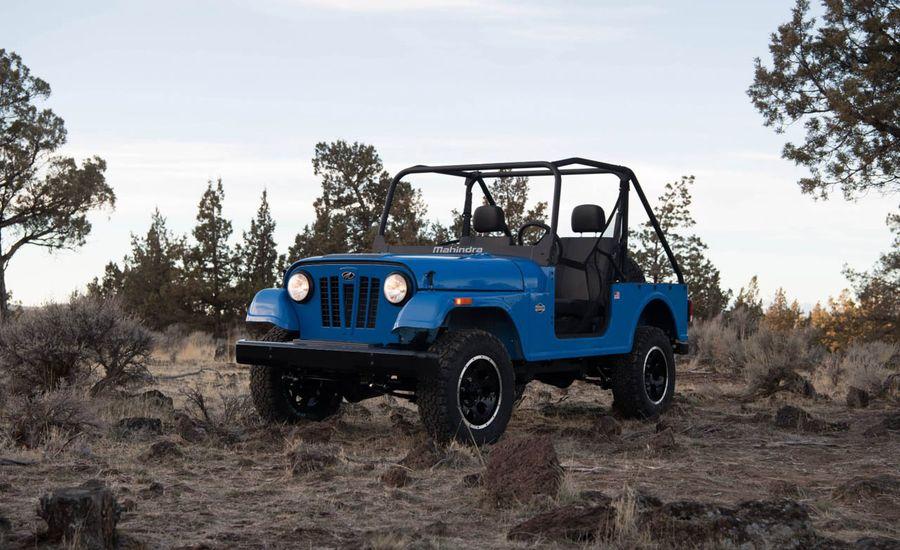 FCA Seeks to Stop Jeep-Like Mahindra Roxor 4x4 in the U.S.