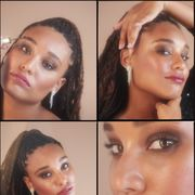 Lip, Cheek, Brown, Hairstyle, Eye, Skin, Eyelash, Chin, Forehead, Eyebrow,