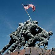marine corps war memorial, arlington ridge park
