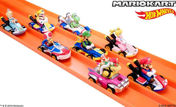 Hot Wheels Is Releasing Mario Kart Toys