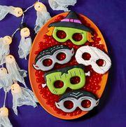 monster mask cookies halloween desserts