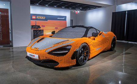 Life-Size Lego McLaren 720S Is More Handcrafted Than the Real Thing