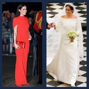 meghan gowns