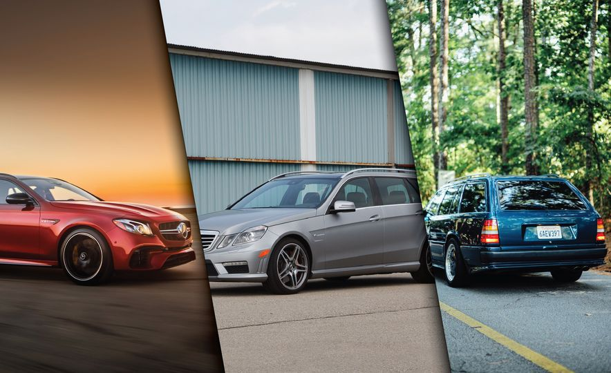 A Visual History of AMG-Modified Mercedes-Benz E-class Wagons - Slide 1