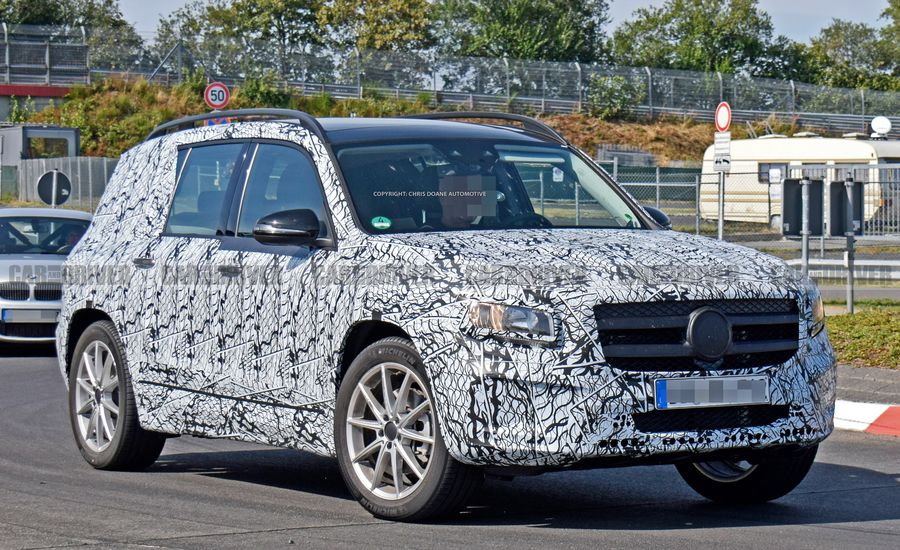 2020 Mercedes-Benz GLB-class Is Benz's New Boxy Small SUV