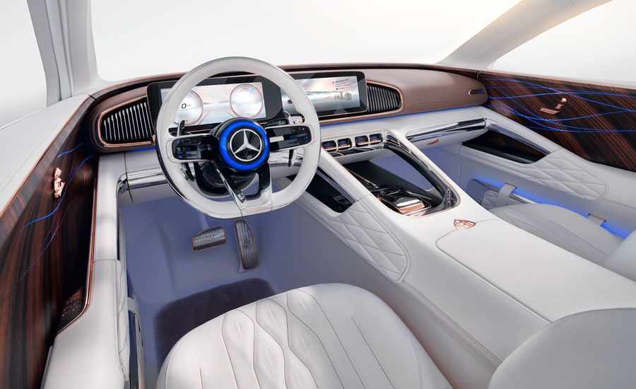 2020 Mercedes S-class Cabin to Highlight the Colors of Money