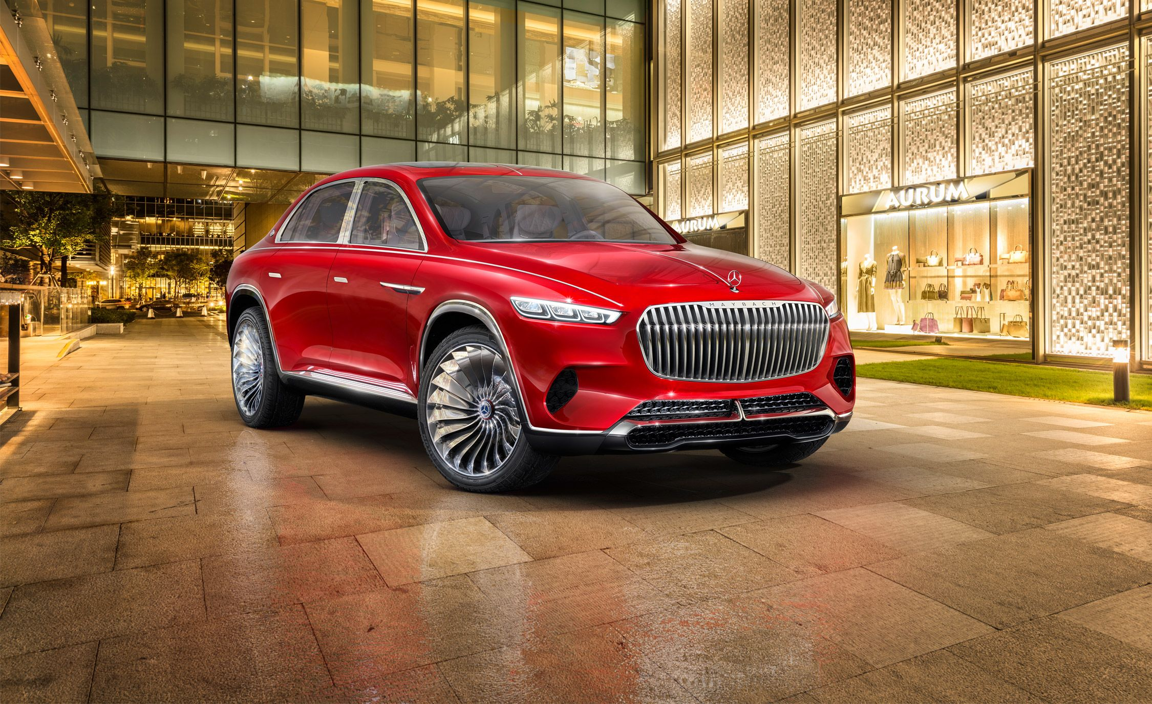 Mercedes maybach vision ultimate luxury concept dissected placement 1529590902