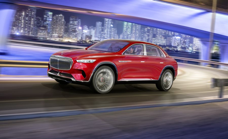 Sedan Shape on an SUV Scale: Vision Mercedes-Maybach Ultimate Luxury