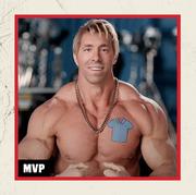 bodybuilder aaron reed and free guy star ryan reynolds